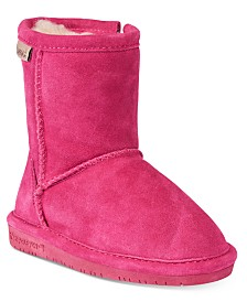 BEARPAW Emma Zip Boots, Toddler Girls (4.5-10.5) & Little Girls (11-3)
