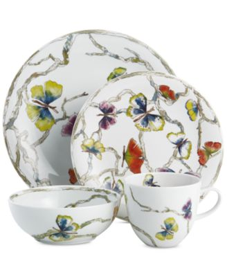 Butterfly Ginkgo Dinnerware Collection 4-Pc. Place Setting