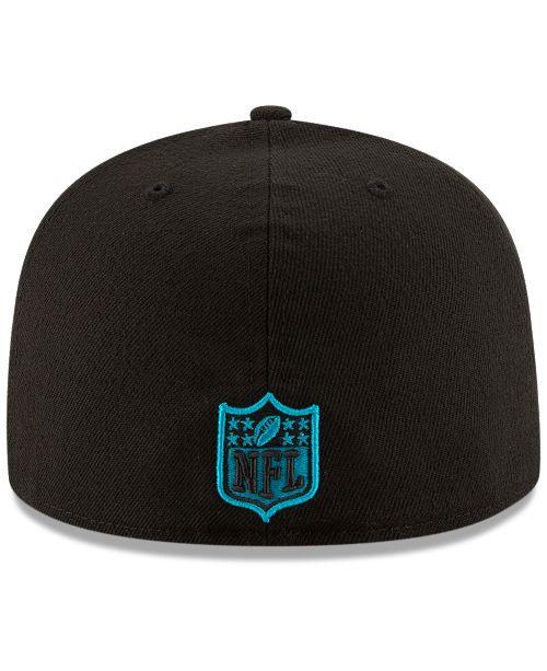 eff8e702d9c New Era Carolina Panthers Team Basic 59FIFTY Fitted Cap - Sports Fan ...