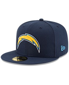 Los Angeles Chargers Team Basic 59FIFTY Fitted Cap