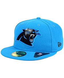 New Era Carolina Panthers Beveled Team 59FIFTY Cap