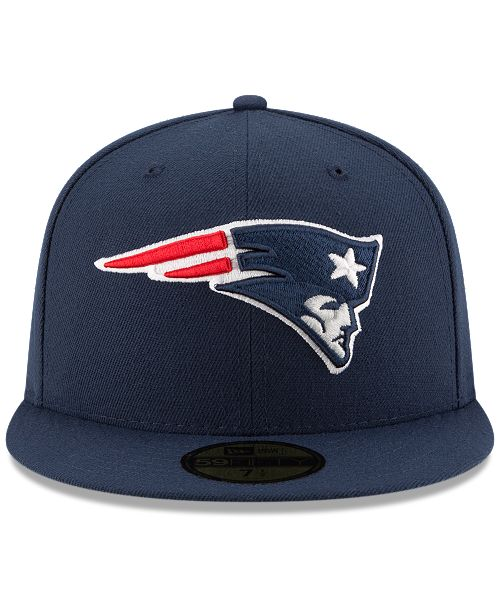 d1bd6bc084275b ... closeout new era new england patriots team basic 59fifty fitted cap  sports fan shop by lids