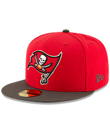 New Era Tampa Bay Buccaneers Team Basic 59FIFTY Fitted Cap