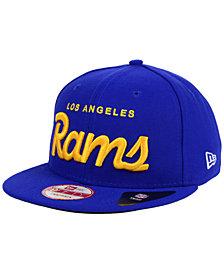 New Era Los Angeles Rams LIDS 20th Anniversary Script 9FIFTY Snapback Cap