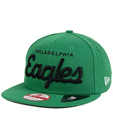 New Era Philadelphia Eagles LIDS 20th Anniversary Script 9FIFTY Snapback Cap