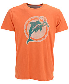 '47 Brand Men's Miami Dolphins Retro Logo Scrum T-Shirt