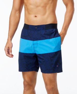 tommy hilfiger menu0027s big u0026 tall thaxton board shorts