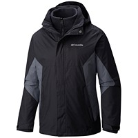 Deals on Columbia Mens Eager Air 3-in-1 Omni-Shield Jacket