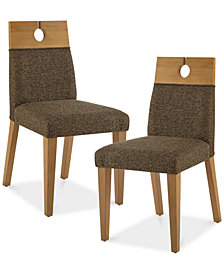 Metro Set of 2 Dining Chairs, Quick Ship
