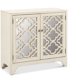 Kallan Lattice Accent Chest, Quick Ship