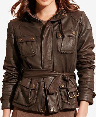 Lauren Ralph Lauren Waxed Jacket