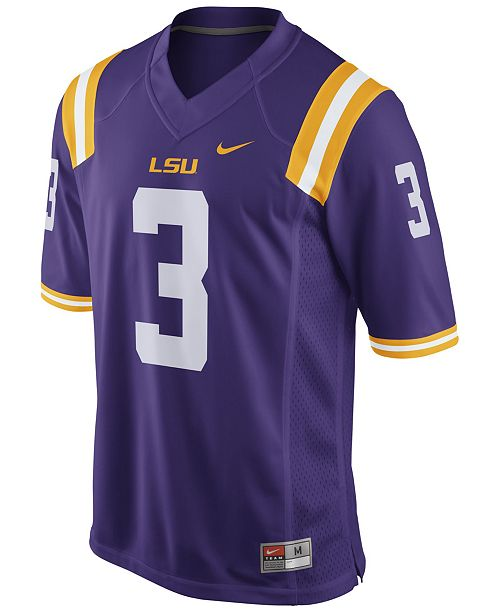 watch f1bdd 14034 Men's Odell Beckham Jr. LSU Tigers Player Game Jersey