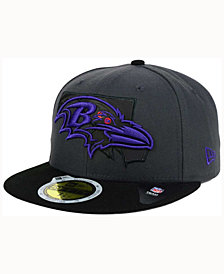 New Era Baltimore Ravens State Flective 3.0 59FIFTY Cap