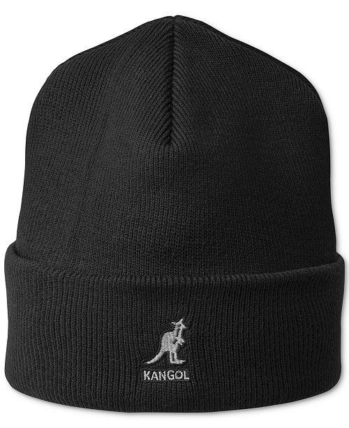 Kangol Men s Ribbed Beanie - Hats 893f355f9bf