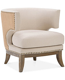Kaline Accent Chair, Quick Ship