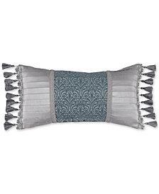 "Croscill Gabrijel 22"" x 11"" Boudoir Decorative Pillow"