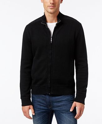 Cutter & Buck Big & Tall Men's Silver Creek Full-Zip Sweater