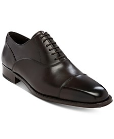 Massimo Emporio Men's Augustine Cap-Toe Oxfords