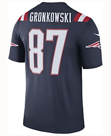 Nike Men's Rob Gronkowski New England Patriots Legend Color Rush Jersey