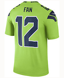 Nike Men's 12th Man Seattle Seahawks Legend Color Rush Jersey