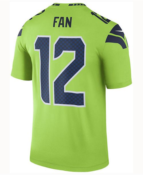 c4becd1d0 ... Nike Men's 12th Man Seattle Seahawks Legend Color Rush Jersey ...