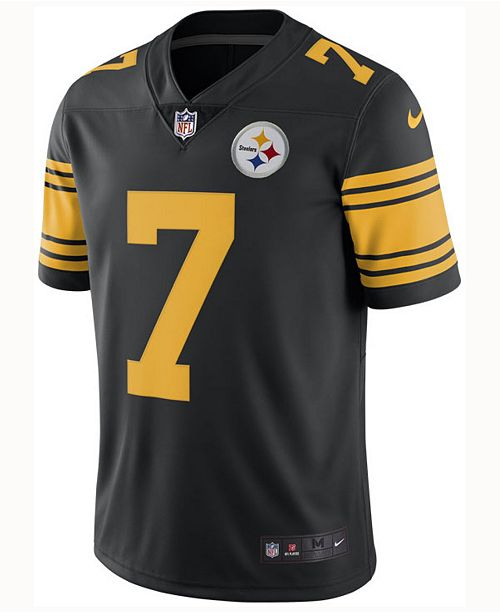 new product ad3bb 4ce4d Men's Ben Roethlisberger Pittsburgh Steelers Limited Color Rush Jersey
