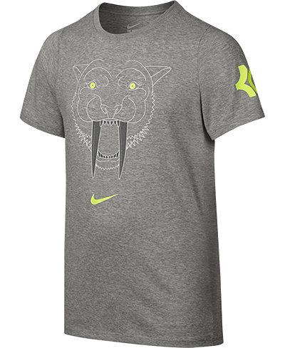Nike Kevin Durant Graphic Print T Shirt Big Boys 8 20