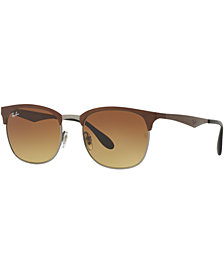 Ray-Ban CLUBMASTER GRADIENT Sunglasses, RB3538 53