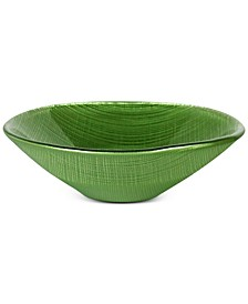 Verona Green Coupe Glass Bowl