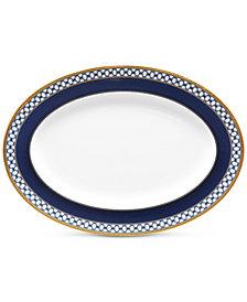 Noritake Blueshire Oval Platter