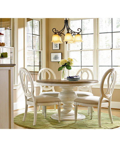 round dining room set. Sag Harbor Round Dining Furniture Collection  Macy s