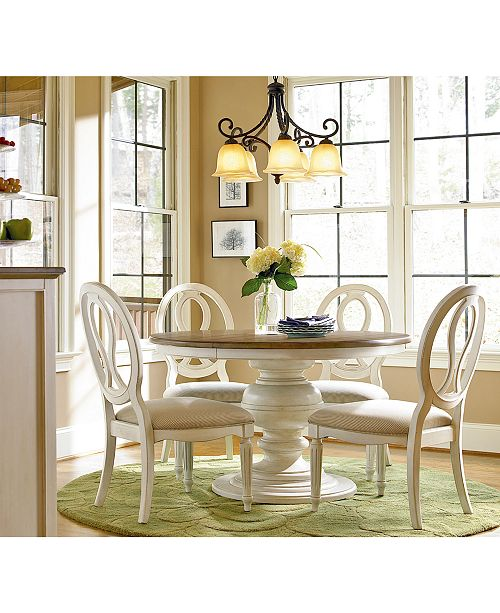 Fine Sag Harbor Round Dining Furniture Collection Ocoug Best Dining Table And Chair Ideas Images Ocougorg