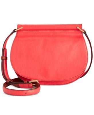Vera Bradley Sidesaddle Crossbody Saddle Bag Handbags