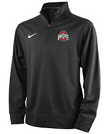 Nike Ohio State Buckeyes Dri-FIT Quarter-Zip Pullover, Big Boys (8-20) Shirt
