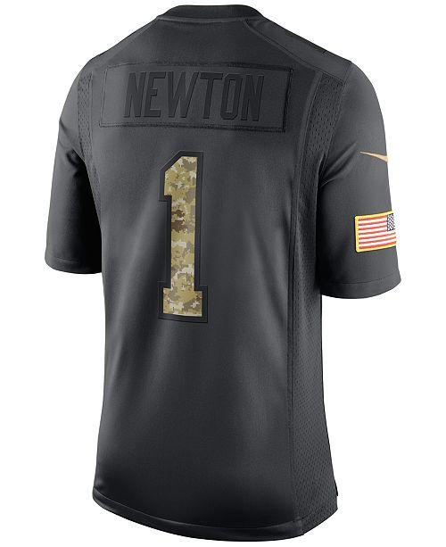 new arrival 24074 3413b Nike Men's Cam Newton Carolina Panthers Salute to Service ...