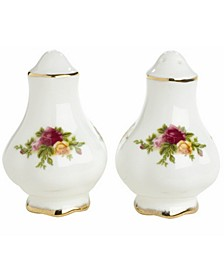 Old Country Roses Salt and Pepper