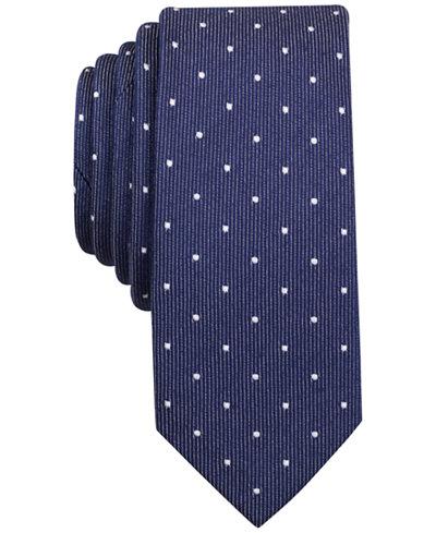 Original Penguin Men's Milner Dot Slim Tie