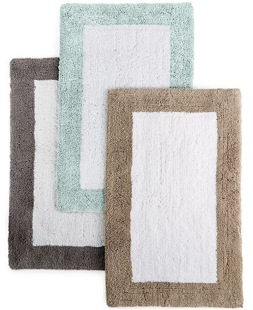 Hotel Collection Closeout Colorblock 30 X 50 Bath Rug