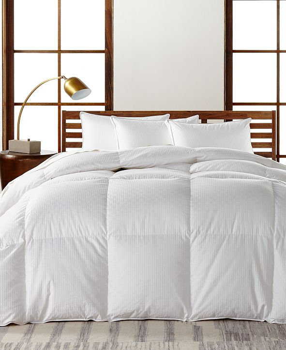 Hotel Collection European White Goose Down Heavyweight Twin Comforter, Hypoallergenic UltraClean Down, Created for Macy's