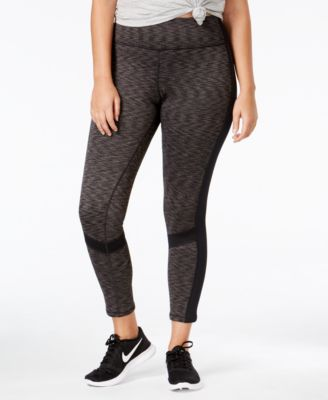 Ideology Plus Size Fleece-Lined Leggings, Only at Macy's - Pants ...