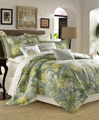 CLOSEOUT! Cuba Cabana Queen 4-Pc. Comforter Set