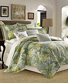 CLOSEOUT! Tommy Bahama Home Cuba Cabana Queen 4-Pc. Comforter Set