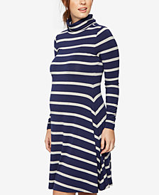 A Pea In The Pod Maternity Striped Shift Dress
