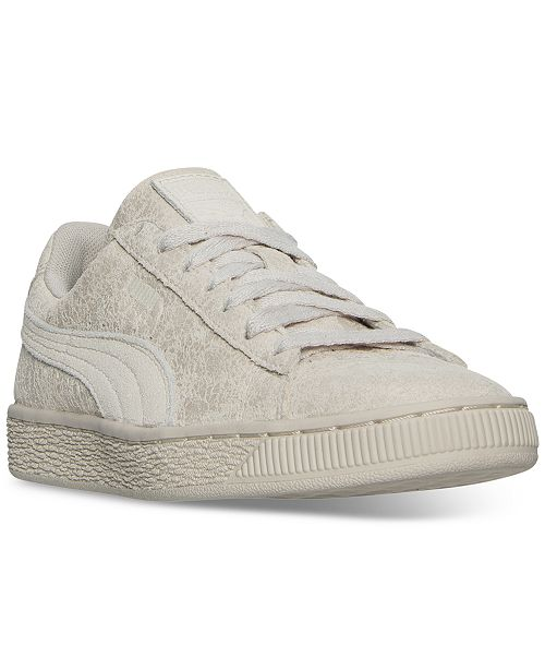 info for aecfe a693c ... Puma Women s Suede Remaster Casual Sneakers from Finish ...