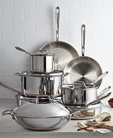 Copper-Core 14-Pc. Cookware Set