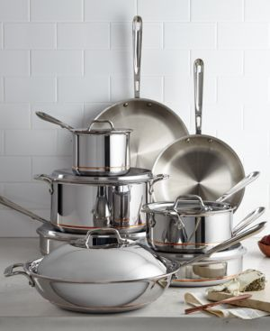 All-Clad Copper-Core 14-Pc. Cookware Set 250528