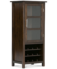Easton High Storage Wine Rack, Quick Ship