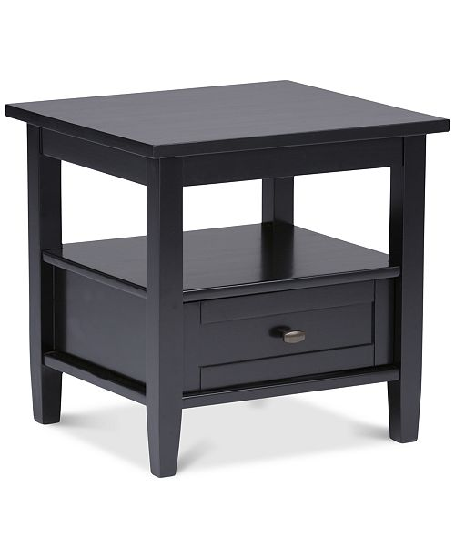 Simpli Home Burbank End Table