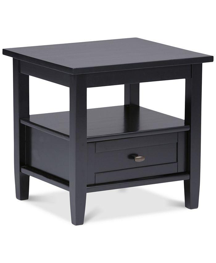 Simpli Home - Burbank End Table, Direct Ship