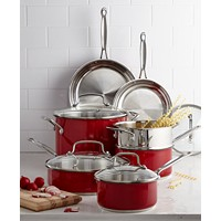 Cuisinart CSS-11MR 11-Piece Classic Cookware Set